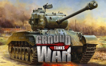 игра Ground War: Tanks