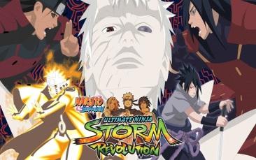 игра NARUTO SHIPPUDEN: Ultimate Ninja STORM Revolution
