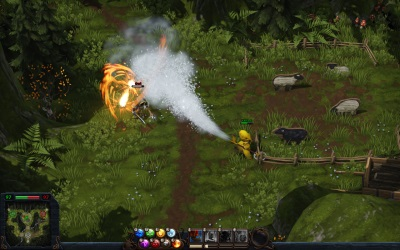 игра Magicka: Wizard Wars
